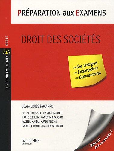 Droit des sociétés par Jean-Louis Navarro
