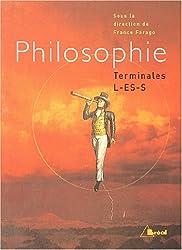 Philosophie Tles L,ES,S