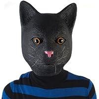 LatestBuy Madheadz Partymaske, Schwarze Katze preisvergleich bei billige-tabletten.eu