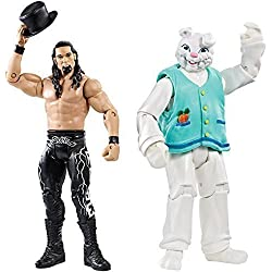 WWE ADAM ROSA & THE CONIGLIETTO NXT WWF BATTLE PACK MATTEL SERIE 38 WRESTLING FIGURE