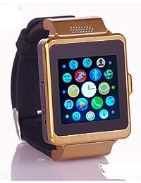 upad P6Wearables reloj inteligente, llamadas manos libres/control de medios/Control de Mensajes/Control de la cámara para android y iOS