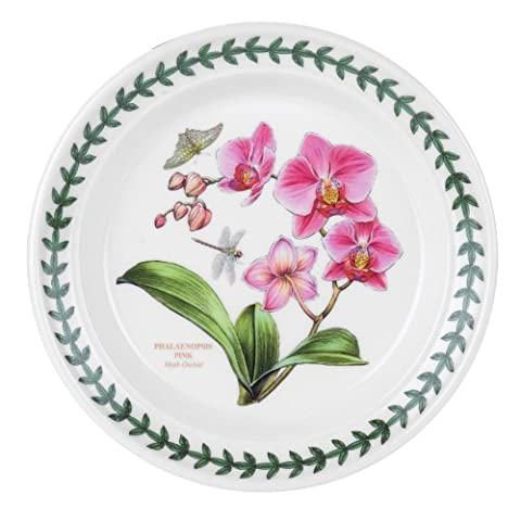 Portmeirion Exotic Botanic Garden Bread and Butter Plate, Set with 6 Assorted Motifs by Portmeirion