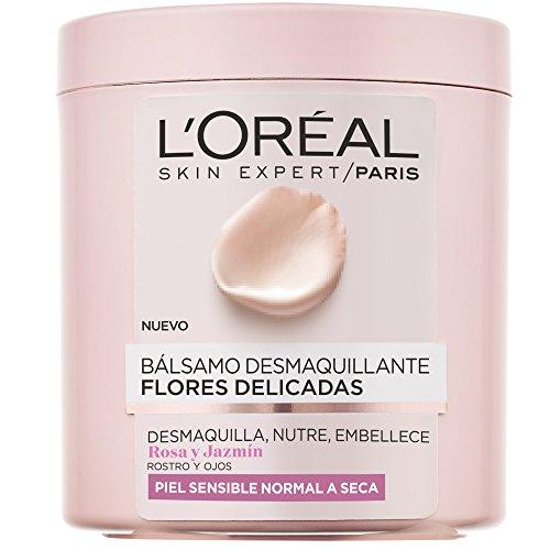L'Oreal Paris Flores Delicadas Bálsamo Desmaquillante Piel Sensible, Normal a Seca
