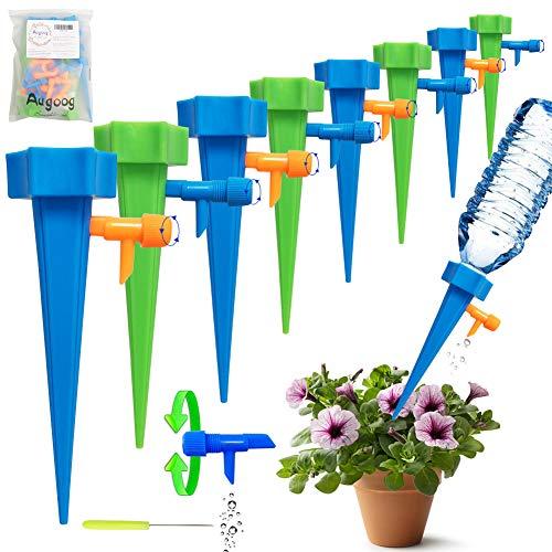 18 Stück Automatisch Bewässerung Set,Einstellbar Bewässerungssystem Garten zur Pflanzen Bewässerung Blumen Bewässerung Zimmerpflanze Bewässerung Ideal Wasserversorgung Während Ihrem Urlaub
