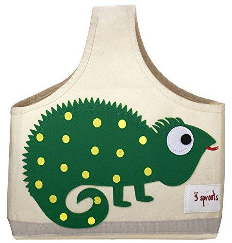 Preisvergleich Produktbild 3 sprouts Spielzeugtasche Leguan