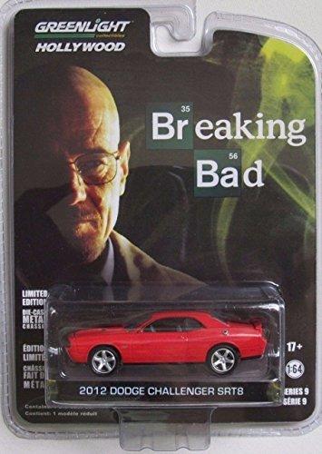 dodge-challenger-srt8-metallizzato-rosso-nero-2012-modello-di-automobile-modello-prefabbricato-green