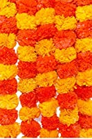 Artificial Marigold Flowers Garlands / Toran are one of the best decor which gives a fresh look for marriage, parties, occasions, functions, get-to-gethers, marraige anniversay, birthday party, events, parties, outdoor decoration Diwali / Navratri / ...
