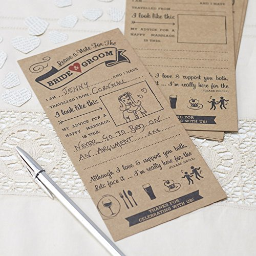 Ginger-Ray-Advice-For-The-Bride-Groom-Wedding-Entertainment-Cards-X-10-Vintage-Affair