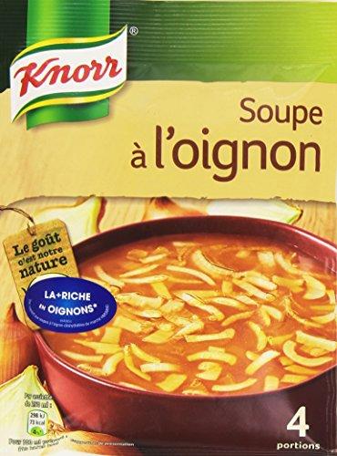 Knorr Soupe à L'Oignon pour 4 personnes 84 g  - Lot de 8