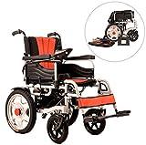 JL-Q Faltbare ältere, elektrische Rollstuhlfahrer für Behinderte mit Elektro-Rollstuhl-Doppelmotor (rechte Kontrolle)
