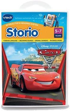 Vtech – Livre Jeu Storio – Cars 2 – Version Anglaise (Import Royaume-Uni) | à Gagnez Un Haut Admiration