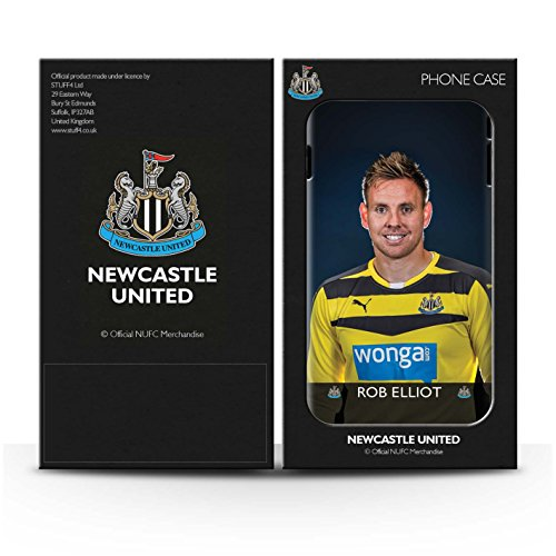 Offiziell Newcastle United FC Hülle / Glanz Snap-On Case für Apple iPhone 6S+/Plus / Pack 25pcs Muster / NUFC Fussballspieler 15/16 Kollektion Elliot