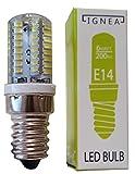 Glühlampe für Dunstabzugshaube, Kühlschrank, E14,64LED, Energieeffizient weiß