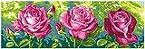 grafitec Gedruckt Tapisserie/Set–Garten Rosen (Les Roses Du Jardin)
