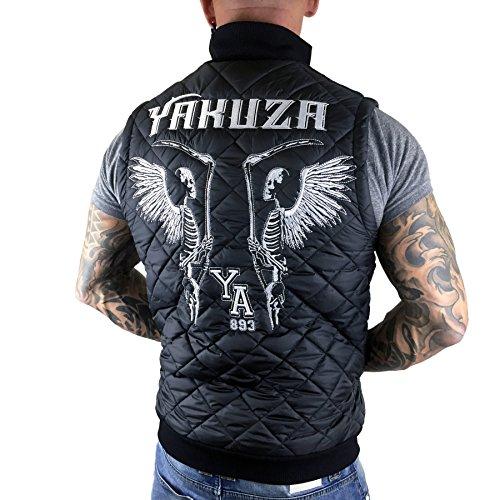 Yakuza Homme Vestes & Blousons / Veste sans manche Skeleton Quilted Noir