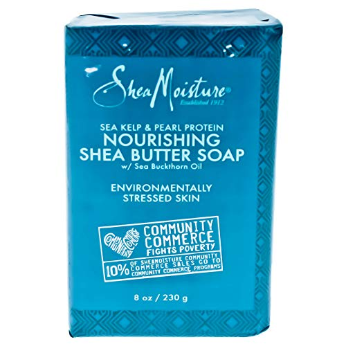 SHEA MOISTURE Sea Kelp/Pearl Protein Nourishing Shea Butter Soap