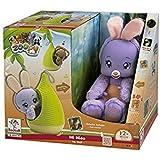Color Baby  - Peluche zoopy con nido 2 mod. sdos. (oso y conejo)