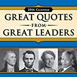2016 Great Quotes from Great Leaders Boxed Calendar by Peggy Anderson (2015-07-01)