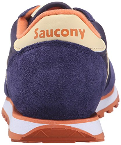 Saucony Jazz Low Pro Damen Sneaker Lila Blue/CREAM