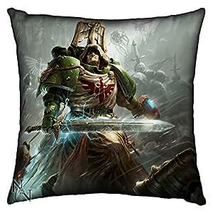 Games Workshop: Warhammer 40,000 Dark Angels Silk Finish Cushion - 42 cm by Games Workshop: Warhammer 40,000