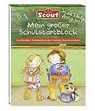 Scout Mein großer Schulstartblock: Buchstaben - Schwungübungen - Zahlen - Konzentration