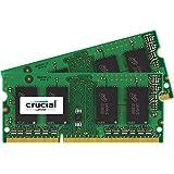 Crucial 16GB Kit (8GBx2) DDR3 1333 MT/s  (PC3-10600) SODIMM 204pin Speicher für Mac - CT2C8G3S1339MCEU