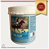 Tonderde für die Pferde-Beine I dopingfrei I essigsaure Tonerde Paste I kühlt Bänder, Sehnen, Gelenke I Premiumprodukt EMMA I 1,5 Kg