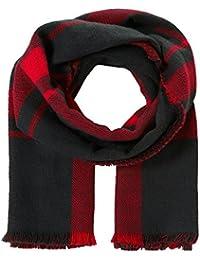 TOM TAILOR Denim Cosy Check-scarf/510, Femme