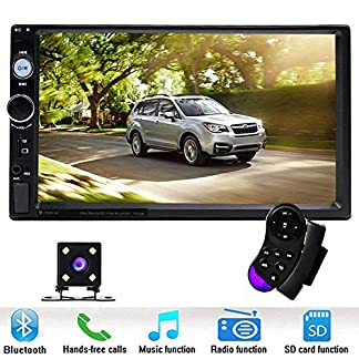 podofo-Doppel-DIN-Auto-stereo7-HD-Player-MP5-Touchscreen-in-Dash-Digital-Display-Bluetooth-USB-SD-Multimedia-Kfz-Radio-Autoradio-2Din-mit-Backup-Kamera