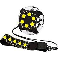 Wamsatto Balón de Entrenamiento con Cinturón de Fútbol para Niños con Elástico Ajustable