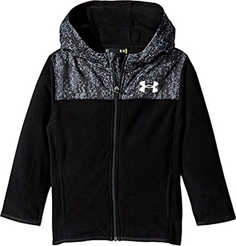 Toddler Full Zip Hoodie (Under Armour Kids Baby Boy's Digital City Cozy Hoodie Full Zip (Toddler) Black Sweatshirt)