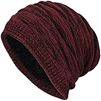 PAOLIAN Cappello Invernale Unisex Lana Maglia Caldo Cappelli di Spessore  Morbido Beanie Ski Berretto bc50b40e57de