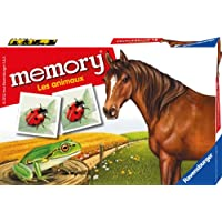 Ravensburger Memory Les Animaux ('Animals') Find-The-Pair Memory Game [French Language]