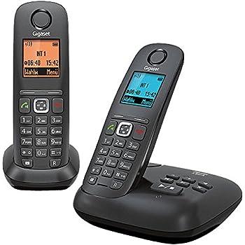 Gigaset A540A Duo Téléphone Fixe sans Fil Anthracite/Noir [Import Allemagne]