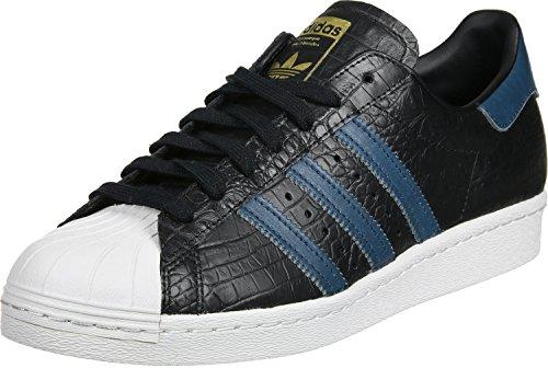 adidas Superstar 80s chaussures noir bleu