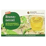 Tegut Brennnessel-Tee mit Zitronengras und Zitronenmelisse, 10er Pack (10 x 40...
