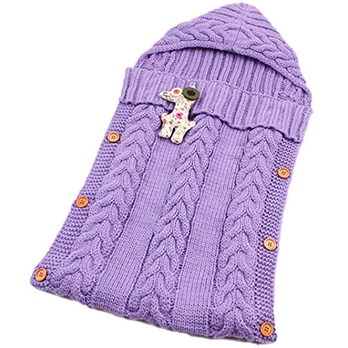 OVERDOSE Baby-Nette Decke Wickeln Schlafsack Kids Toddler Sleep Sack Kinderwagen Wrap
