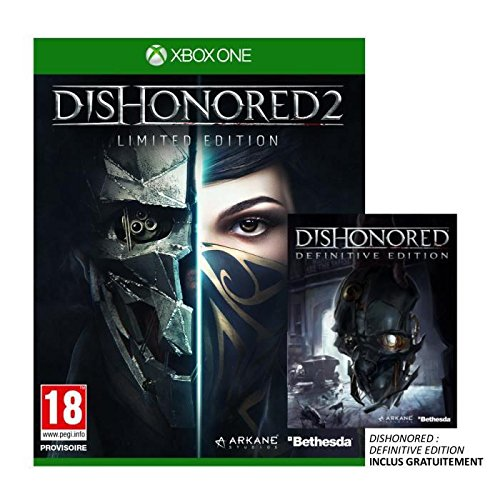 Dishonored 2 Limited Edition Jeu Xbox One (Dishonored Special Edition)