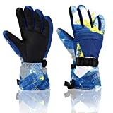 Yidomto Ski Gloves, Yidomto Waterproof Warmest Winter Snow Gloves for Mens, Womens, Boys