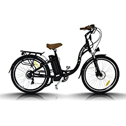 "Bicicleta eléctrica Egarbike P-CITY CAMBIO NEXUS 7 SP Lifepo4 36V 10ah Paseo 26"""