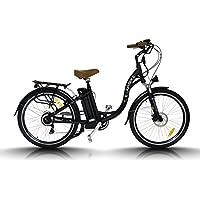 Bicicleta eléctrica Egarbike P-CITY CAMBIO NEXUS 7 SP Lifepo4 36V 10ah Paseo ...