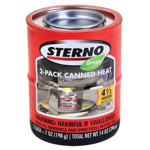 Sterno 7-Ounce, Unterhaltung Kochen Kraftstoff, 2-Pack Sterno-gel