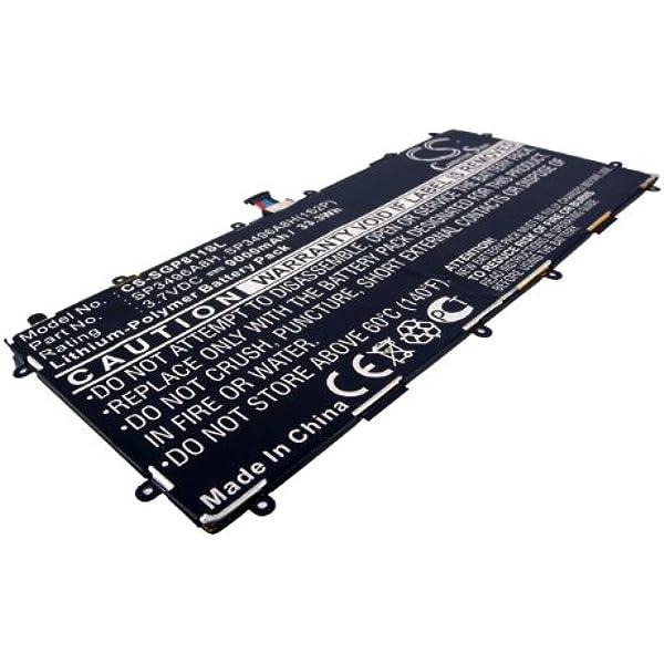 Cs Tablet Akku Li Polymer 3 7v 9000mah Amazon De Elektronik