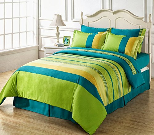 Ahmedabad Superior 160 TC Cotton Double Bedsheet with 2 Pillow Covers -...