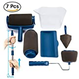 Paint Roller Set, ARTISTORE 7 Stücke Farbroller Painting Handle Tool Set, Pro-transform Ihr Zuhause Einfach DIY, Multifunktions Flachpinsel Set