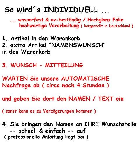 Preisvergleich Produktbild Nachkauf - für Namenswunsch / alles-meine.de GmbH