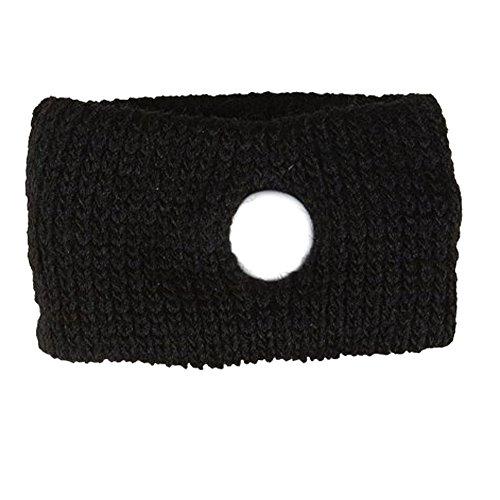 Mangotree Akupressur Anti-Übelkeit Relief Armbänder Reisen Seekrankheit Armbänder für Erwachsene Kinder und Schwangere (wiederverwendbar) (1pair, Schwarz) -