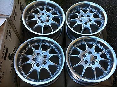 4 Alufelgen Keskin KT8 8x 15 Zoll ET25 LK 5/100 VW Golf,VW Polo 9N,Seat Leon