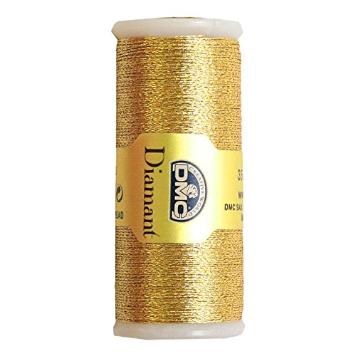 DMC Diamant Metallic Thread 38.2yd-Light Gold