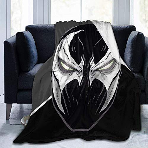 NR Masque de Spawn Mcfarlane Flanelle Couverture en Molleton léger Super Doux Confortable lit Couverture canapé Couverture